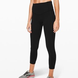 lululemon all the right places crop 23""